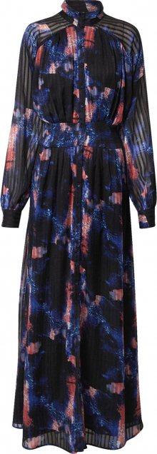 Y.A.S Košilové šaty \'Aqua\' mix barev / černá