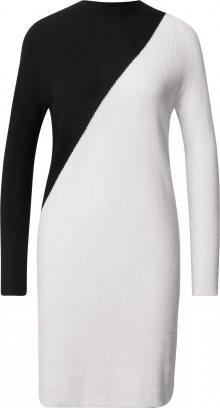 Esprit Collection Šaty černá / bílá