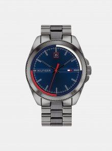 Pánské hodinky s ocelovým páskem ve stříbrné barvě Tommy Hilfiger