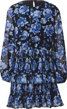Gina Tricot Šaty \'Amber\' modrá / černá