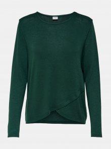 Tmavě zelené tričko Jacqueline de Yong - XS