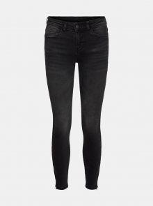 Tmavě šedé skinny fit džíny Noisy May Kimmy - XS