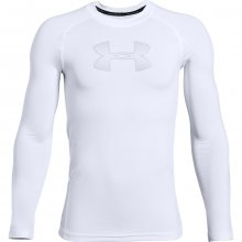 Tričko Under Armour HeatGear Armour LS-WHT - M