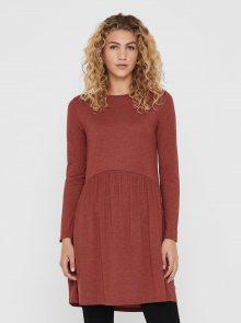 Hnědé šaty Jacqueline de Yong - XS