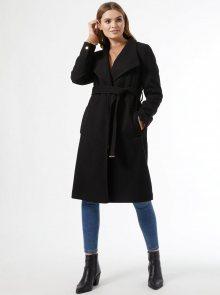Černý kabát Dorothy Perkins - XS