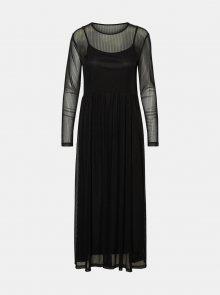 Černé šaty Noisy May Ember - XS