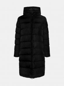 Černý prošívaný zimní kabát Pieces Bee - XS