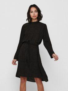 Černé vzorované šaty Jacqueline de Yong - XS