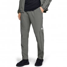 Tepláky Under Armour Athlete Recovery Woven Warm Up Bottom-GR - M