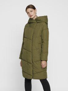 Khaki zimní kabát Noisy May Hattie - XS