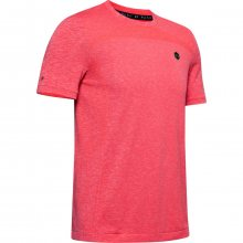 Tričko Under Armour Rush Seamless Fitted SS-RED - M