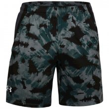 Kraťasy Under Armour UA LAUNCH SW 7\'\' PRINTED SHORT-BLU - M