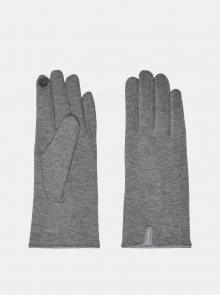 Šedé rukavice ONLY - S-M