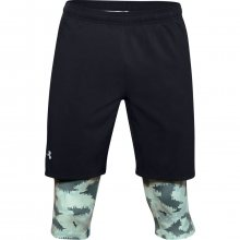 Kraťasy Under Armour M UA Launch SW Long 2-in-1 Printed Short - M