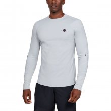 Tričko Under Armour Cg Rush Mock-Gry - M