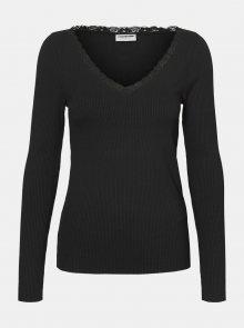 Černé tričko Noisy May Owen - XS