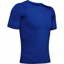 Kompresní tričko Under Armour Hg Rush Compression Ss-Blu - XL