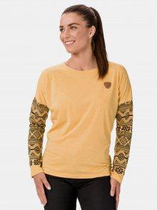 Žluté dámské tričko SAM 73