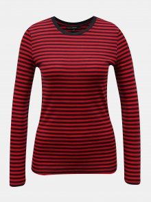Červené pruhované tričko VERO MODA