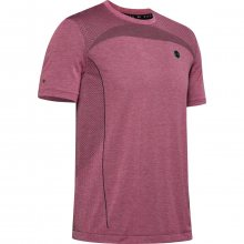Tričko Under Armour Rush Seamless Fitted SS-PNK - M