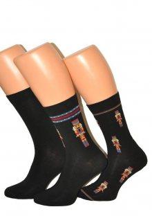 Pánské ponožky Cornette Premium A45 39/41 Černá