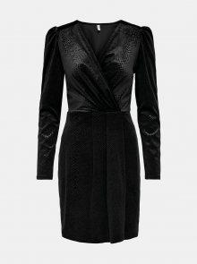 Černé společenské šaty ONLY Nerve - XS