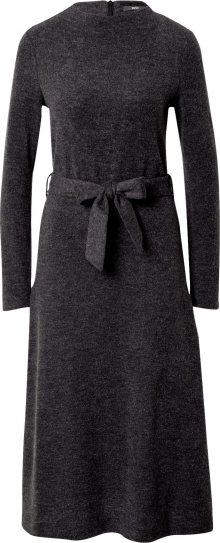 Esprit Collection Šaty tmavě šedá