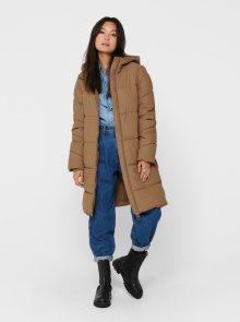 Béžový zimní kabát ONLY Sienna - XS