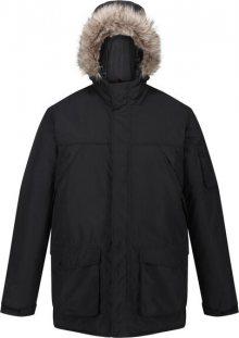 Pánská zimní bunda Regatta RMP285 Salinger II Černá Černá L
