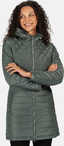 Dámský kabát Regatta RWN157 Parmenia Světle zelený Zelená 36