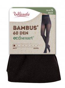 Ekologické bambusové punčochové kalhoty ECOSMART BAMBUS 60 DEN - Dámské bambusové punčochy - černá