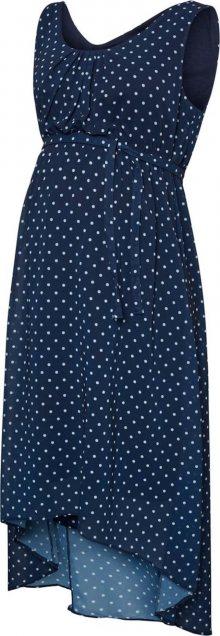 MAMALICIOUS Šaty \'Elina\' azurová / námořnická modř