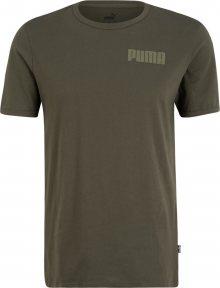 PUMA Funkční tričko olivová / khaki