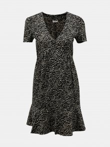 Černé vzorované šaty Noisy May