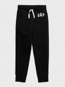 Černé klučičí tepláky GAP Logo