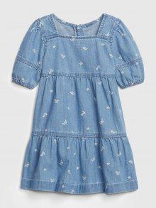 Modré holčičí šaty GAP