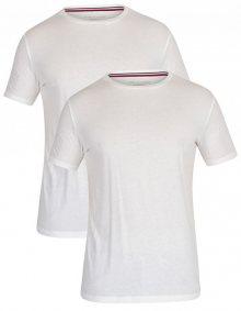 Tommy Hilfiger 2 PACK - pánské triko UM0UM01030-100 White/White XL