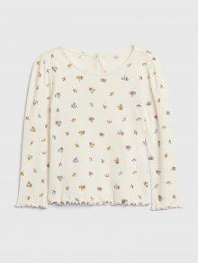 Béžové holčičí tričko GAP