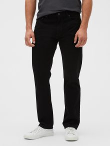 Černé pánské kalhoty GAP