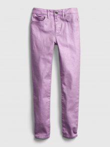 Fialové holčičí kalhoty GAP