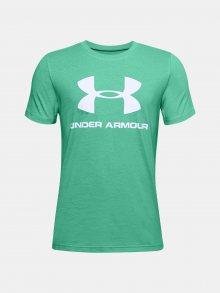 Zelené tričko Under Armour UA Sportstyle Logo SS