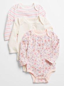 Růžové holčičí body GAP Print