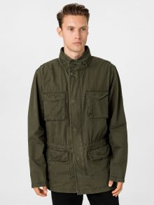 Zelený pánský kabát GAP