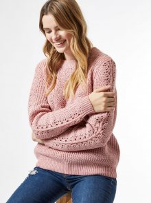 Růžový svetr Dorothy Perkins - XS