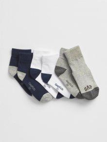 Barevné klučičí ponožky GAP Logo 3-Pack