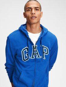 Modrá pánská mikina GAP Logo