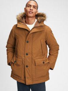 Hnědý pánský kabát GAP