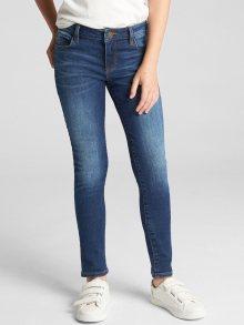 Modré holčičí džíny GAP Super skinny