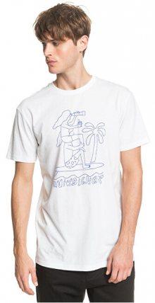 Quiksilver Pánské triko Turning Heads Ss White EQYZT05820-WBB0 M