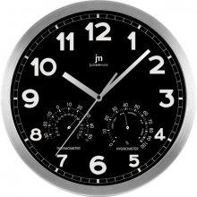 Lowell Nástěnné hodiny s teploměrem a vlhkoměrem 14931N - SLEVA